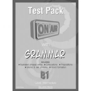 On Air With Grammar B1 Test Pack