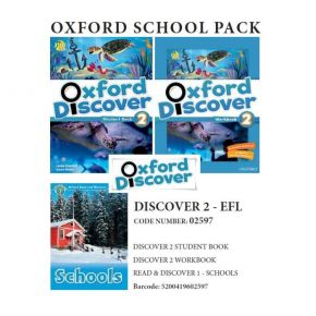Oxford Discover 2 Pack - EFL - 02597