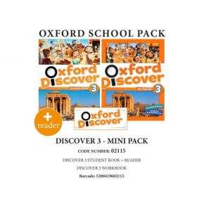 Oxford Discover 3 Mini Pack - 02115
