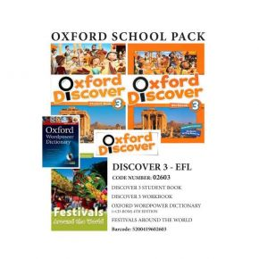Oxford Discover 3 Pack - EFL - 02603