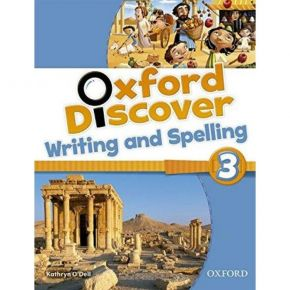Oxford Discover 3 - Writing & Spelling Book