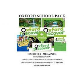 Oxford Discover 4 Mega Pack (Student's Book, Workbook, Grammar, Companion, Reader) 02696