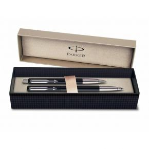 Parker Set Δώρου Στυλό Vector Black Ballpoint & Roller Ball CT