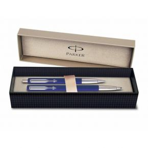 Parker Set Δώρου Στυλό Vector Blue Ballpoint & Roller Ball CT