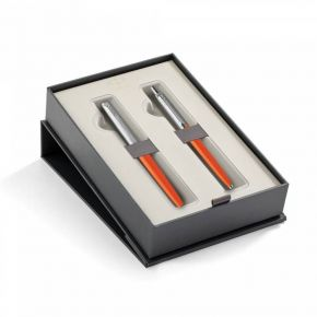 Parker Set Κασετίνα Δώρου Στυλό Jotter Originals Orange Ballpoint & Πένα Fountain Pen CT
