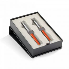 Parker Set Κασετίνα Δώρου Στυλό Jotter Originals Orange Ballpoint & Roller Ball