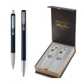 Parker Set Κασετίνα Δώρου Στυλό Vector Black Ballpoint & Roller Ball CT