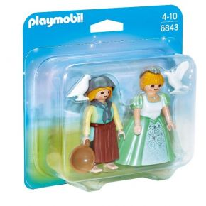 Playmobil 6843 Duo Pack Πριγκίπισσα Και Υπηρέτρια