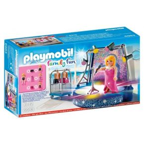Playmobil 6983 Τραγουδίστρια Σε Disco Stage