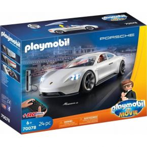 Playmobil 70078 The Movie - Ο Ρεξ Ντάσερ Με Την Porsche Mission E