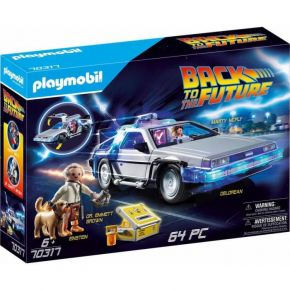 Playmobil 70317 Back To The Future Συλλεκτικό Όχημα Ντελόριαν