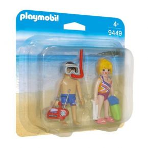 Playmobil 9449 Duo Pack Λουόμενοι Στην Παραλία