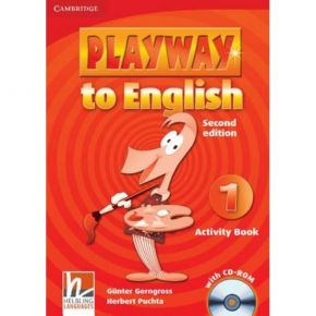 Playway To English 1 - Activity Book (Βιβλίο Ασκήσεων+CD)