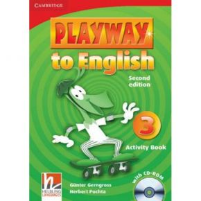 Playway To English 3 - Activity Book (Βιβλίο Ασκήσεων+CD)