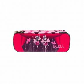 Polo Κασετίνα Οβάλ Pencil Case Belike Ballerinas