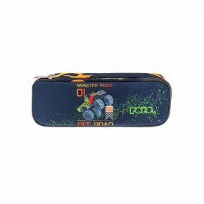 Polo Κασετίνα Οβάλ Pencil Case Belike Monster Truck