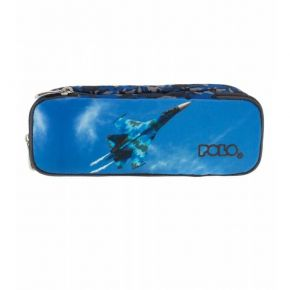 Polo Κασετίνα Οβάλ Pencil Case Duo Atomic Airpalne