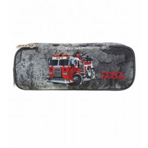Polo Κασετίνα Οβάλ Pencil Case Duo Atomic Fire Truck