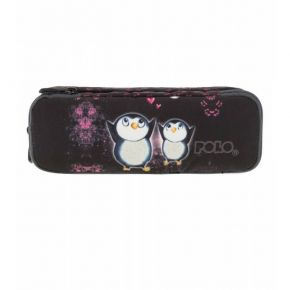 Polo Κασετίνα Οβάλ Pencil Case Duo Atomic Penguins