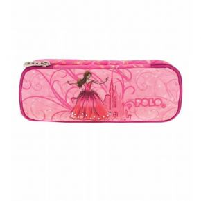 Polo Κασετίνα Οβάλ Pencil Case Duo Atomic Princess