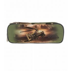 Polo Κασετίνα Οβάλ Pencil Case Duo Turbo Helicopter