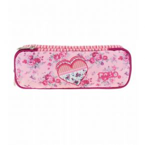 Polo Κασετίνα Οβάλ Pencil Case Duo Turbo Vintage Heart