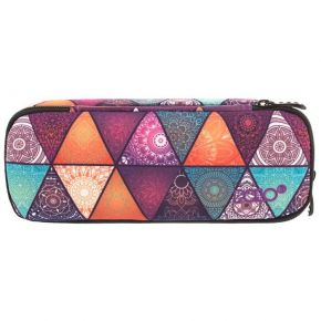 Polo Κασετίνα Οβάλ Pencil Case Patterns Girl
