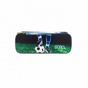 Polo Κασετίνα Οβάλ Pencil Case Troller Football