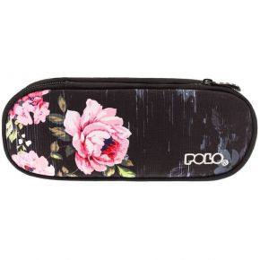 Polo Κασετίνα Οβάλ Pencil Case Vision Glow Flowers