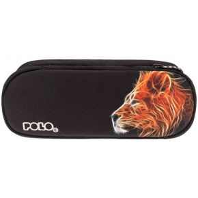 Polo Κασετίνα Οβάλ Pencil Case Vision Glow Lion