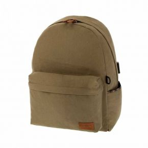 Polo Σακίδιο Πλάτης Backpack Canvas Μπεζ