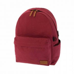 Polo Σακίδιο Πλάτης Backpack Canvas Μπορντώ