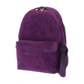 Polo Σακίδιο Πλάτης Backpack With Scarf Velvet Μωβ