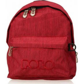 Polo Τσάντα Πλάτης Νηπίου Backpack Mini Red Jean 2021
