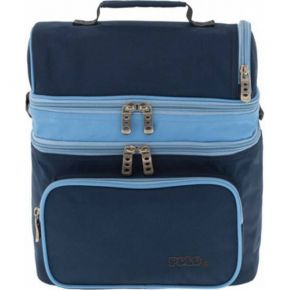 Polo Τσαντάκι Φαγητού Double Cooler Blue
