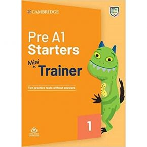 Pre A1 Starters Mini Trainer - Student's Book (+ Downloadable Audio)