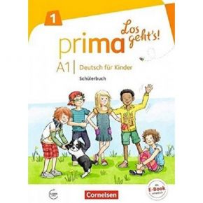 ce958b52fd Prima Los Geht s A1.1 - Schülerbuch Mit Audios Online (Βιβλίο Μαθητή)