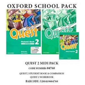 Quest 2 - Midi Pack (Student's Book, Workbook, Companion)
