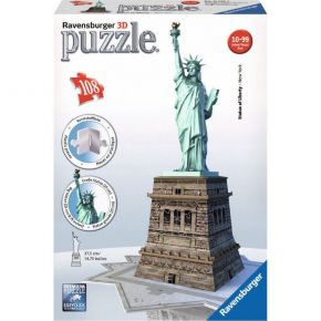 Ravensburger 3D Puzzle 108 τεμ. Άγαλμα της Ελευθερίας
