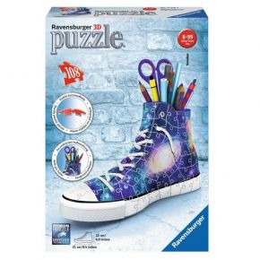 Ravensburger 3D Puzzle Sneaker Galaxy 108 Τεμ.