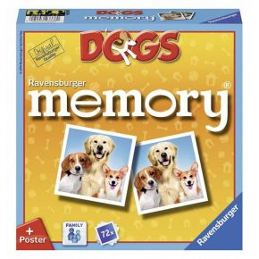 Ravensburger Επιτραπέζιο Μνήμης Memory Dogs