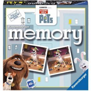 Ravensburger Επιτραπέζιο Μνήμης Memory The Secret Life Of Pets