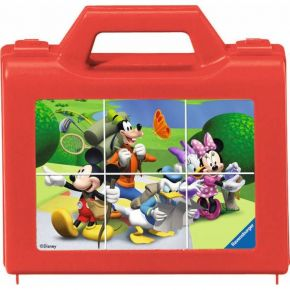 Ravensburger Κύβοι 6 τεμ. Mickey Mouse Clubhouse