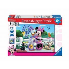 Ravensburger Παζλ 100XXL Minnie Mouse & Daisy