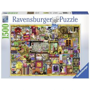 Ravensburger Παζλ 1500 τεμ. Colin Thompson: Crafts and Hobbies