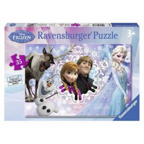 Ravensburger Παζλ 35 τεμ. Frozen For Ever Family