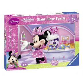 Ravensburger Παζλ Δαπέδου 24 τεμ. Minnie Mouse Bow-tique