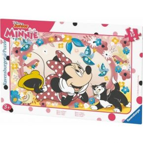Ravensburger Παζλ Καρτέλα 15τεμ. Minnie Mouse