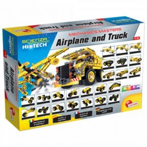 Real Fun Lisciani Airplane And Truck (25 In 1)