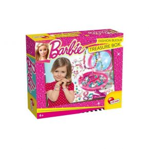 Real Fun Lisciani Barbie Fashion Bijoux Treasure Box